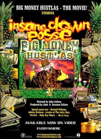 Big Money Hustlas - Promotional poster for the film's home video release.