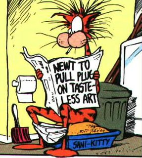Bill the Cat character from Bloom County