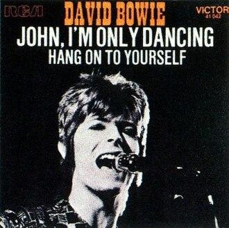 John, I'm Only Dancing - Image: Bowie John Dancing 1