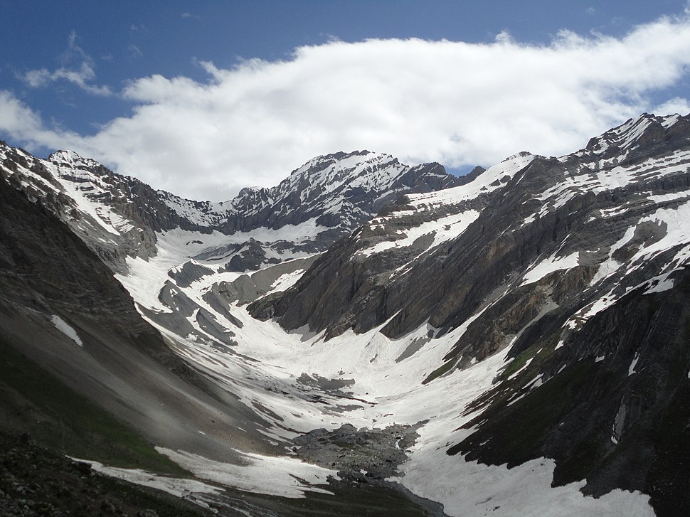 Breathtaking scenery on way to Amarnath Cave