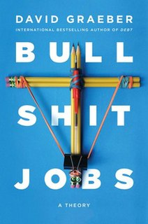 <i>Bullshit Jobs</i> 2018 book