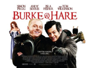 Burke & Hare (2010 film) - UK release poster