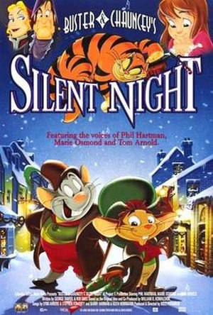 Buster & Chauncey's Silent Night - Film poster