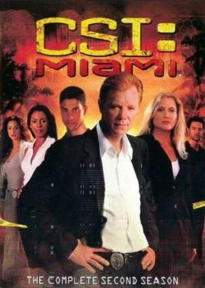 CSI: Miami (season 2) - Season 2 U.S. DVD cover
