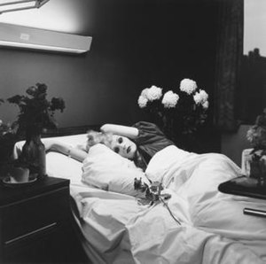 "Candy Darling - ""Candy Darling on her Deathbed"" by Peter Hujar"