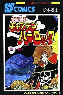 <i>Space Pirate Captain Harlock</i> Space pirate manga and anime series