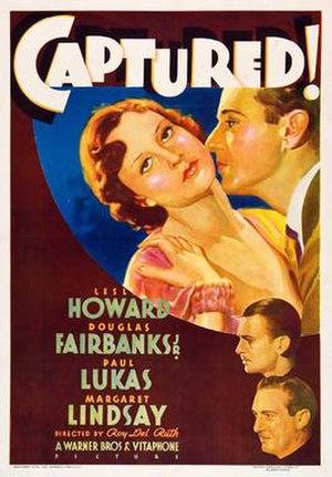 Captured! - Film poster