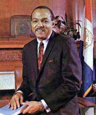 Cleveland–Marshall College of Law - Carl Stokes, the first African-American mayor of a major U.S. city and Cleveland-Marshall alum.