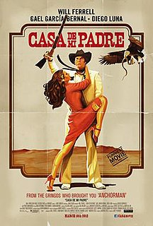 <i>Casa de mi padre</i> 2012 film by Matt Piedmont
