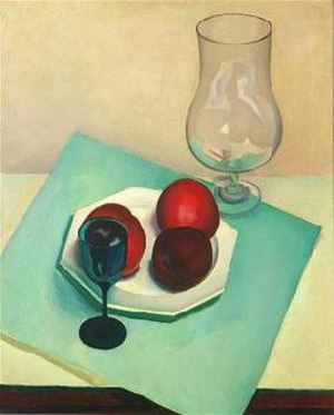 Charles Sheeler - Still Life (1925), one of Sheeler's earlier works, and one of several of his still life paintings.