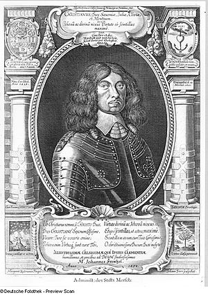 Christian I, Duke of Saxe-Merseburg - Christian I of Saxe-Merseburg.