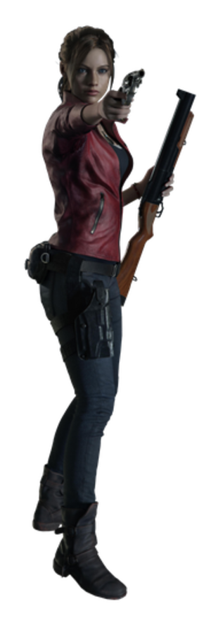 Claire Redfield - Claire Redfield from Resident Evil 2 as seen in Resident Evil: The Darkside Chronicles