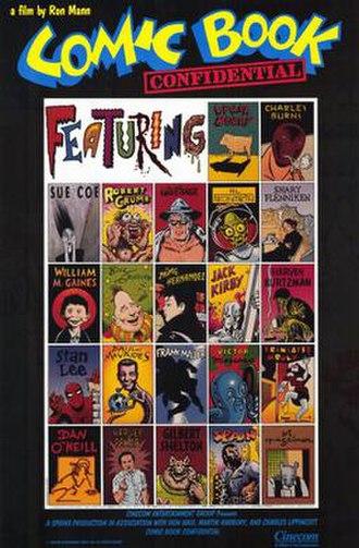 Comic Book Confidential - Movie poster