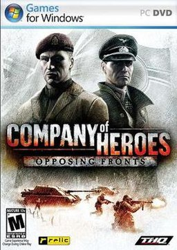 Company Of Heroes Opposing Fronts +1000 unlimited free full version rpg war pc games download