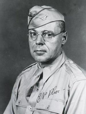 Cornelius P. Rhoads - Photograph of Rhoads taken by the U.S. Army, 1943