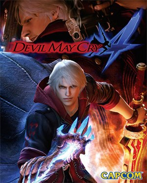 Devil May Cry 4 - Image: DMC4COVER