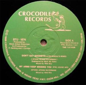 Don't Say Goodbye (Rick Astley song) - Image: DSG 130