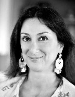 Daphne Caruana Galizia Maltese journalist and blogger