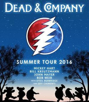 Dead & Company Summer Tour 2016 - Image: Dead And Company 2016 Summer Tour Poster
