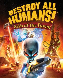 Destroy All Humans! Path of the Furon cover.jpg