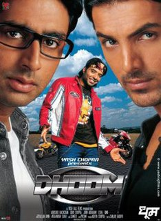 <i>Dhoom</i> 2004 Hindi film directed by Sanjay Gadhvi