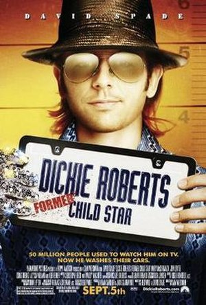 Dickie Roberts: Former Child Star - Theatrical release poster