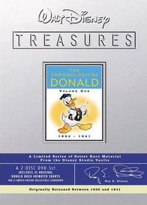 Walt Disney Treasures: Wave Three - Image: Disney Treasures 03 donald