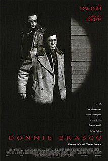 <i>Donnie Brasco</i> (film) 1997 film by Mike Newell