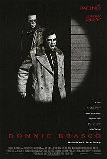 <i>Donnie Brasco</i> (film) 1997 film by Mike Newell