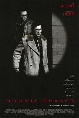 Donnie Brasco (film) - Theatrical release poster