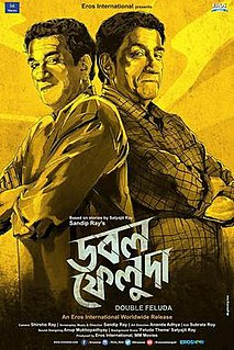 <i>Double Feluda</i> 2016 film directed by Sandip Ray