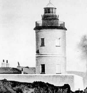 Douglas Head Lighthouse - The lighthouse before 1892