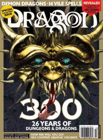 Dragon (magazine) - Issue 300