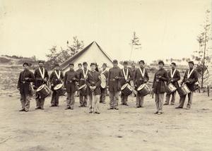 Pennsylvania in the American Civil War - Drum Corps of the 1st Regiment, Pennsylvania Reserve Volunteer Corps.