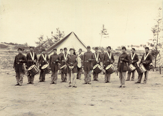 Pennsylvania in the American Civil War - Drum Corps of the 1st Regiment, Pennsylvania Reserve Volunteer Corps.