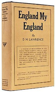 <i>England, My England and Other Stories</i>