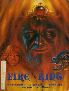 <i>Fire King</i> (video game) 1989 video game