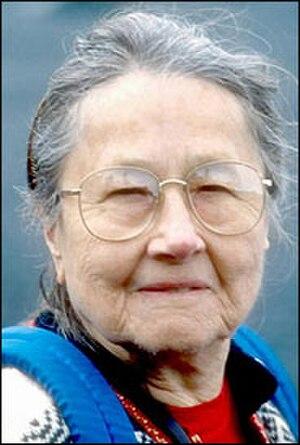 Frederica de Laguna - Image: Frederica de Laguna in 1993 by Bill Roth