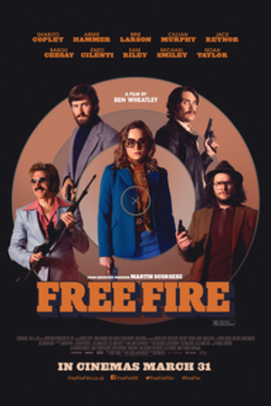 Free Fire - British release poster