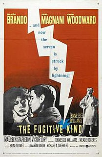 <i>The Fugitive Kind</i> 1959 film by Sidney Lumet