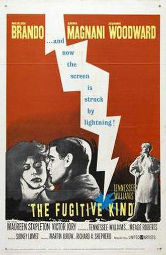 The Fugitive Kind - Original poster