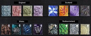 Country definitives - The original pictorial regional GB definitives