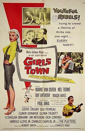 Girls Town - Girls Town movie poster
