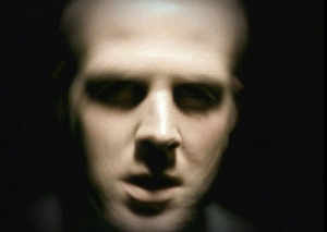 "Guilty (Gravity Kills song) - Image from the ""Guilty"" music video showing Jeff Scheel"