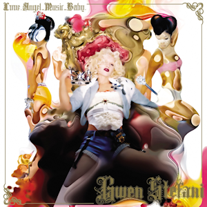 Love. Angel. Music. Baby. - Image: Gwen Stefani – Love Angel Music Baby album cover