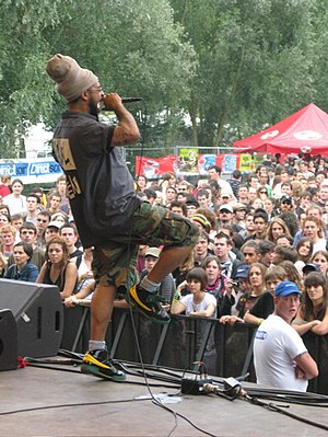 Heavyweight Dub Champion - Dr. Israel performing with HDC at Furia Sound Festial 2007, France