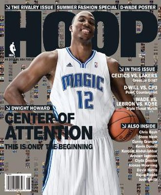 Hoop (magazine) - Dwight Howard on the cover of the May/June '09 issue
