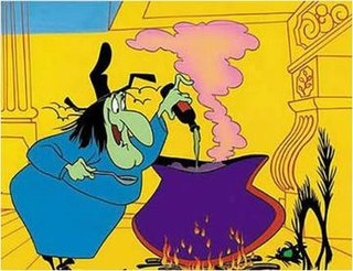 Witch Hazel (<i>Looney Tunes</i>) animated cartoon character in the Warner Bros. Looney Tunes and Merrie Melodies series of cartoons