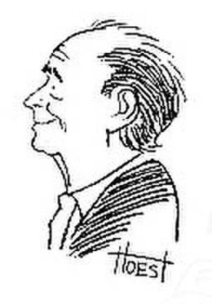 Bill Hoest - Bill Hoest self-portrait