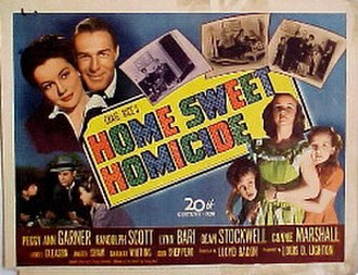 Home Sweet Homicide - Movie poster